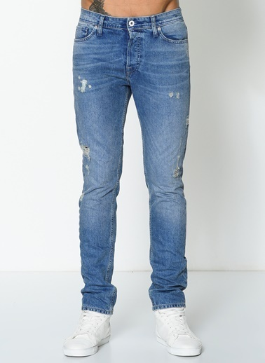 Jack & Jones Jean Pantolon | Tim - Slim Fit Mavi